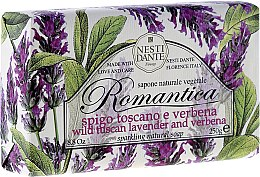 Kup Naturalne mydło w kostce Lawenda i werbena - Nesti Dante Romantica