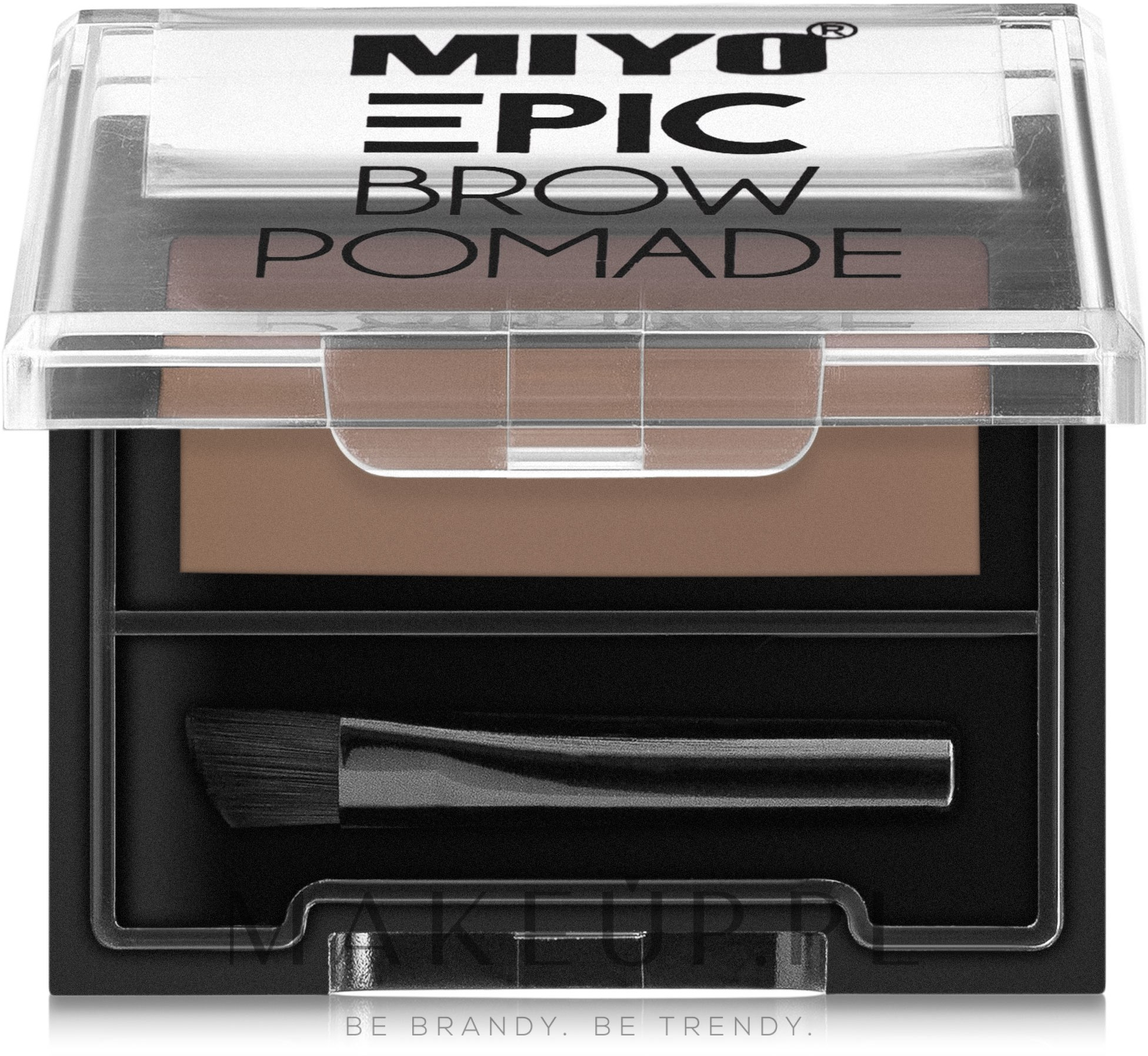Pomada do stylizacji brwi - Miyo Epic Brow Pomade — фото 02 - Rebellious Brown