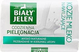 Kup Hipoalergiczne mydło naturalne Kozie mleko i len - Biały Jeleń