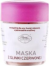 Kup Maska z czerwonej glinki - Jadwiga Saipan