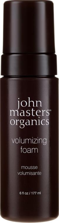 Pianka do włosów zwiększająca objętość - John Masters Organics Volumizing Foam — фото N1