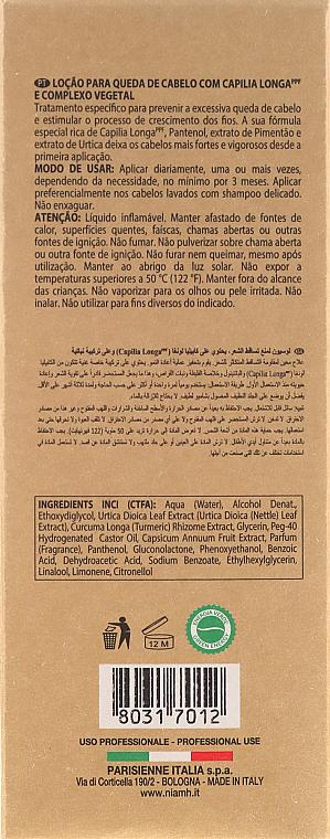 PRZECENA! Ochronny lotion przeciw wypadaniu włosów dla mężczyzn - Niamh Hairconcept Dandy Hair Fall Defence Lotion * — фото N3
