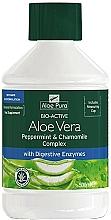 Kup Aloes z miętą pieprzową i rumiankiem w płynie - Aloe Pura Aloe Vera Peppermint & Chamomile Complex