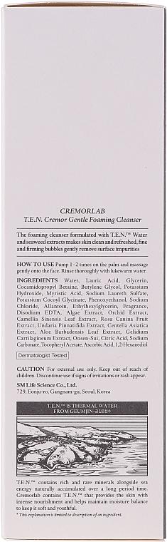 Delikatna pianka oczyszczająca - Cremorlab T.E.N. Cremor Gentle Foaming Cleanser — фото N3
