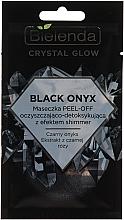 Kup Maseczka peel-off oczyszczająco-detoksykująca z efektem shimmer Czarny onyks - Bielenda Crystal Glow Black Onyx Peel-off Mask