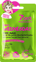 Kup Nawilżająca maseczka do twarzy - 7 Days Easy Wednesday