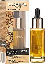Kup Regenerujące serum do twarzy i ciała Olejkowy rytuał - L'Oreal Paris Nutri-Gold Extraordinary Oil