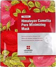 Kup Maska w płachcie do twarzy zwężająca pory - Leaders 7 Wonders Himalayan Camellia Pore Minimizing Mask
