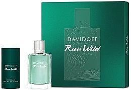 Kup Zestaw dla mężczyzn - Davidoff Run Wild Men (edt 100 ml + deo 70 g)