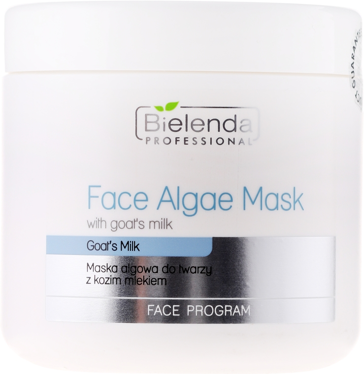 Maska algowa do twarzy z kozim mlekiem - Bielenda Professional Algae Face Mask — фото N1