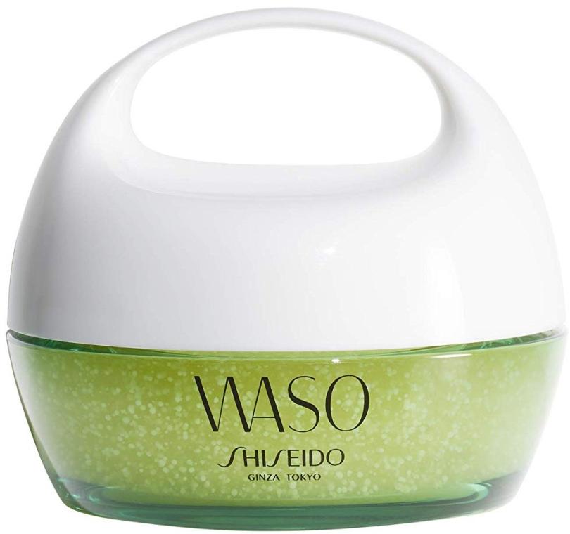 Delikatna żelowa maska do twarzy na noc - Shiseido Waso Beauty Sleeping Mask — фото N1