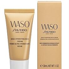 Kup Krem nawilżający do twarzy w tubce - Shiseido Waso Giga-Hydrating Rich Cream