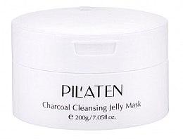 Kup Rozjaśniająca maska glinkowa do twarzy - Pilaten Charcoal Cleansing Jelly Mask Face Mask