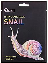Kup PRZECENA! Liftingująca maska do twarzy - Quret Lifting Care Mask Snail *
