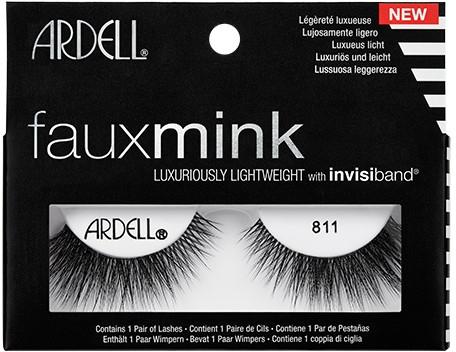Sztuczne rzęsy - Ardell Faux Mink Luxuriously Lightweight 811
