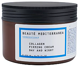 Kup Ujędrniający krem kolagenowy - Beaute Mediterranea Collagen Firming Cream Day & Night