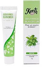 Kup Wybielająca pasta do zębów o smaku miętowym - Keeth Mint-flavoured Whitening Toothpaste