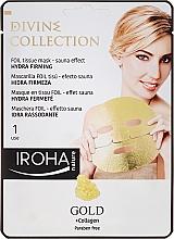 Kup Nawilżająco-ujędrniająca maska do twarzy Złoto i kolagen - Iroha Nature Gold + Collagen Hydra Firming Face Mask