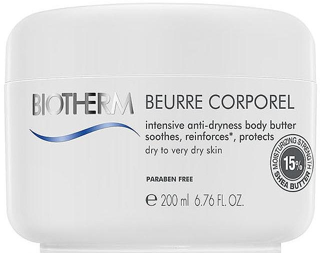 Nawilżające masło do ciała do skóry suchej - Biotherm Lait Corporel Le Beurre — фото N1