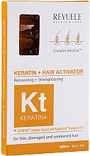 Kup Ampułki do włosów - Revuele Keratin+ Ampoules Hair Restoration Activator