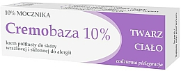 Kup Krem półtłusty do skóry wrażliwej i skłonnej do alergii - Farmapol Cremobaza 10%