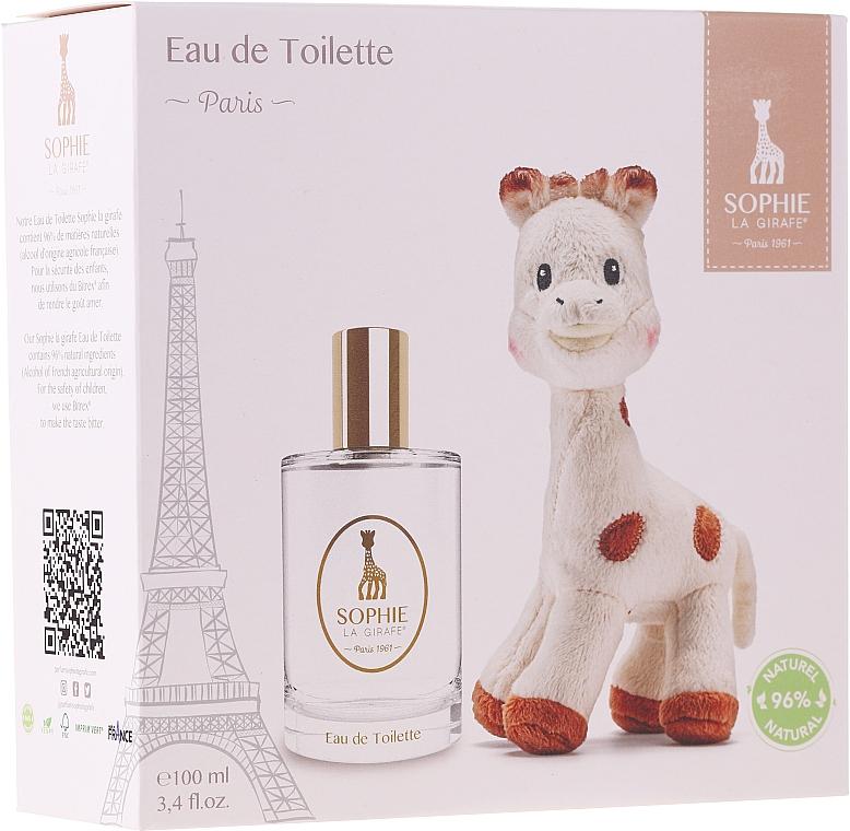 PRZECENA! Parfums Sophie La Girafe Eau de Toilette - (edt/100ml+toy)* — фото N1
