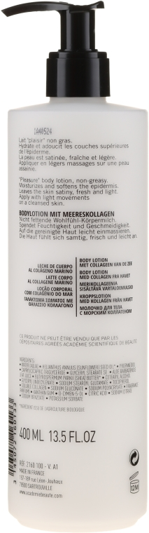 Balsam do ciała z kolagenem morskim - Academie Body Lotion With Collagen From The Sea — фото N2
