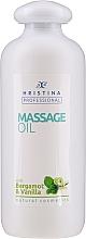 Kup Olejek do masażu z wanilia i bergamotką - Hristina Professional Bergamot & Vanilla Massage Oil