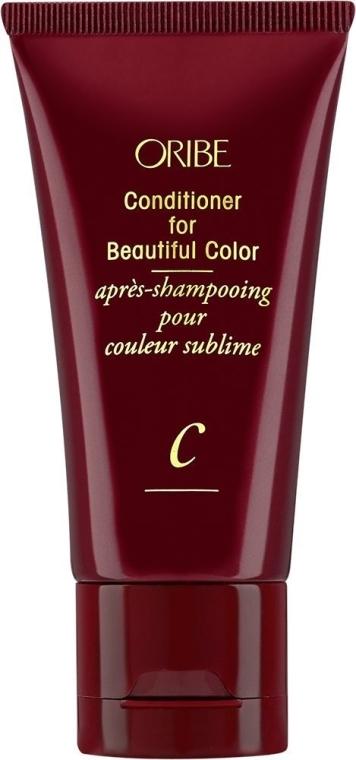 Odżywka wzmacniająca kolor farbowanych włosów brązowych - Oribe Conditioner For Beautiful Color (mini)