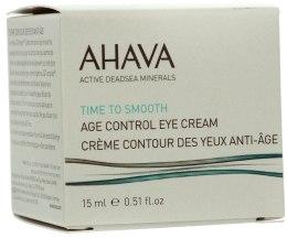 Kup Odmładzający krem wygładzający na okolice oczu - Ahava Age Control Eye Cream