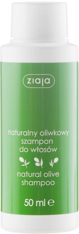 Naturalny oliwkowy szampon odżywczy do włosów - Ziaja Oliwkowa
