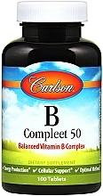 Kup Witamina B - Carlson Labs B Compleet 50