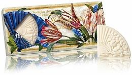 Kup Zestaw naturalnych mydeł Bukiet kwiatów - Saponificio Artigianale Fiorentino Floral Bouquet Soap (3xsoap/100g)