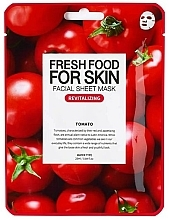 Kup Rewitalizująca maseczka w płachcie do twarzy Pomidor - Superfood For Skin Facial Sheet Mask Tomato Revitalizing
