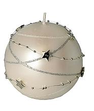Kup Świeca dekoracyjna kremowa kula, 8 cm - Artman Christmas Garland