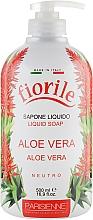 Kup Mydło w płynie Aloes - Parisienne Italia Fiorile Aloe Vera Liquid Soap