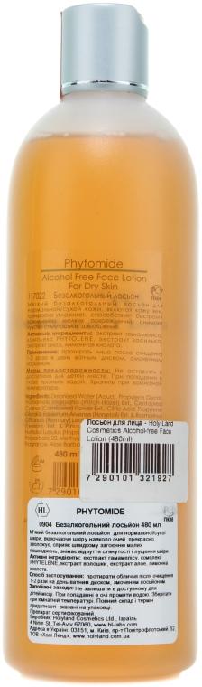 Lotion do twarzy - Holy Land Cosmetics Alcohol-free Face Lotion — фото N2