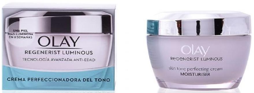 Tonujący krem nawilżający do twarzy - Olay Regenerist Luminous Tone Perfecting Cream — фото N1