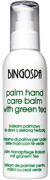Balsam palmowy z zieloną herbatą do dłoni - BingoSpa Palm Balm For Hands With Green Tea