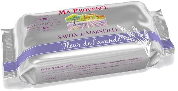 Mydło w kostce Lawenda - Ma Provence Lavender Blossom Marseille Soap — фото N1