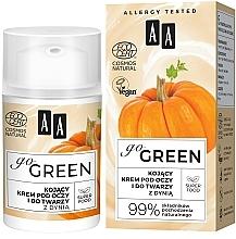 Kup Kojący krem pod oczy i do twarzy z dynią - AA Go Green