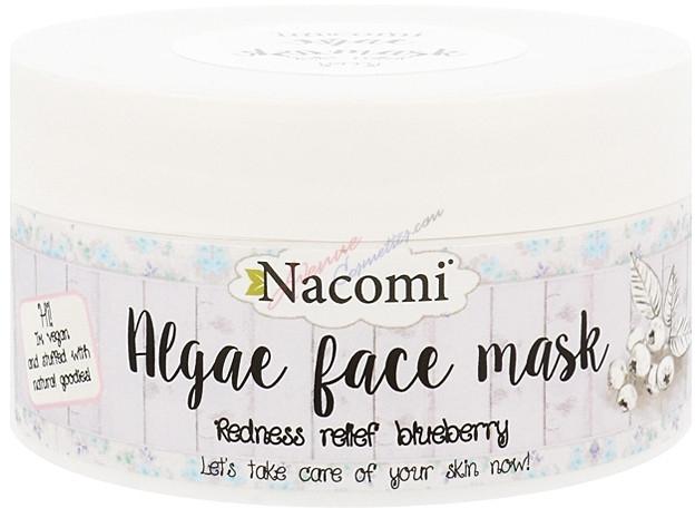 Algowa maska do twarzy Borówka - Nacomi Professional Face Mask