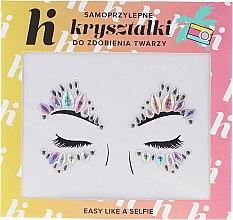 Kup Samoprzylepne kryształki do zdobienia twarzy - Hi Hybrid 2