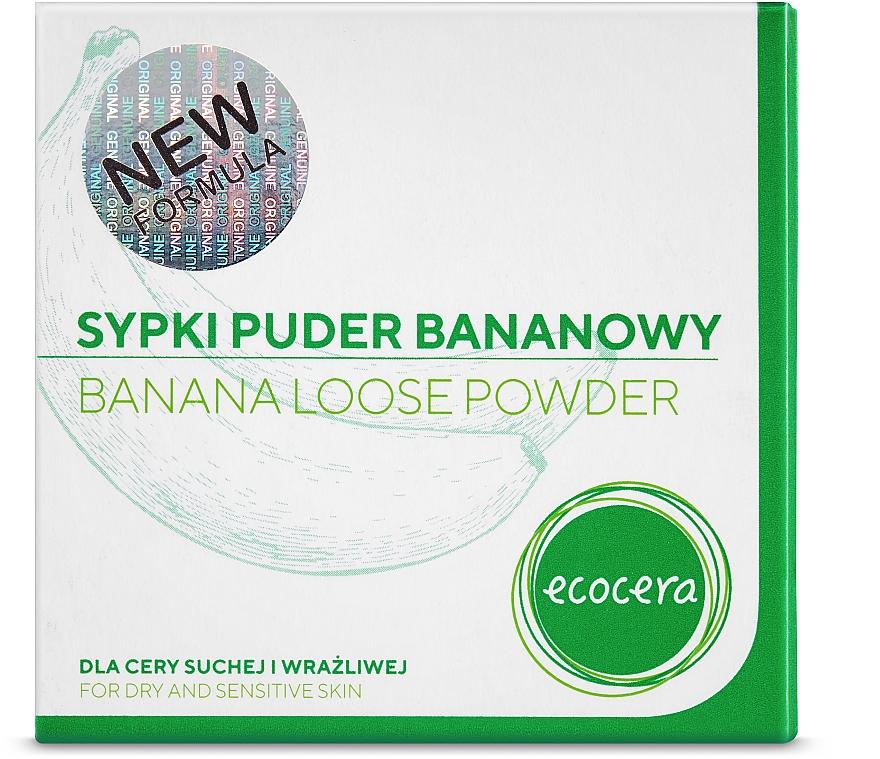 Sypki puder bananowy do cery suchej i wrażliwej - Ecocera — фото N4