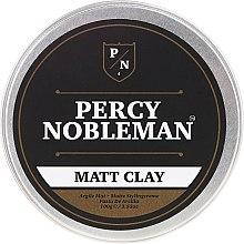 Kup Matująca glinka do stylizacji włosów dla mężczyzn - Percy Nobleman Matt Clay