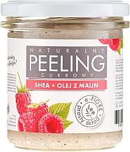 Kup Naturalny peeling cukrowy Shea + olej z malin - E-Fiore