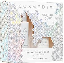 Kup Zestaw - Cosmedix Brightening Boost Ultimate Glow Kit (f/ser 30 ml + f/powder 6 g )