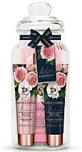 Kup Zestaw - Baylis & Harding Boudoire Rose Hand Cream Jar Gift Set (h/cream/3x50ml)