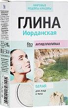 Kup Jordańska antycellulitowa glinka biała do twarzy i ciała - FitoKosmetik