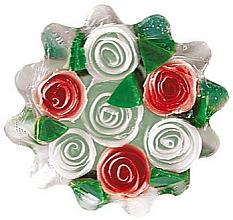 Kup Mydło glicerynowe Różana fantazja, biało-czerwone - Bulgarian Rose Soap